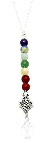 "Chakra Balancing Gemstone Necklace, Sterling Silver 18"", ... http://www.amazon.com/dp/B0032RA2KG/ref=cm_sw_r_pi_dp_XEMrxb0RD7SHK"