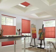 Thoughts on the color of these blinds? We can help you add a touch or a whole lot of color to your home!