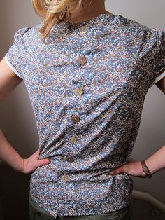 At last I've been sewing again! Here is my Mathilde Blouse! - Guthrie & Ghani