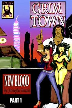 The Grim Town cover