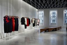 Victoria Beckham Opens Up on Dover Street - store...London.