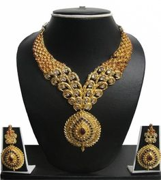 Zaveri Pearls traditional Alloy Jewel Set Price in India