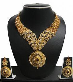 Zaveri Pearls traditional Alloy Jewel Set Price in India