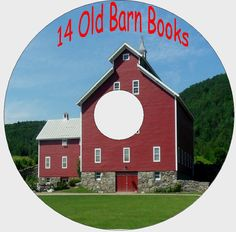 Barns ( Farm Storage Round )  How To Build 14 Old Books CD