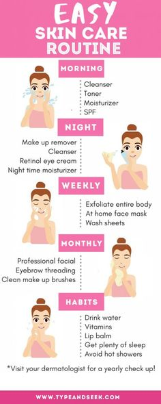 Easy Skin Care Routine That Works Wonders! – Type and Seek Easy Skin Care Routine That Works Wonders! – Type and Seek,Beauty Tips Easy Skin Care Routine That Works Wonders! Face Skin Care, Diy Skin Care, Skin Care Tips, Good Skin Tips, Haut Routine, Beauty Blogs, Beauty Room, Beauty Quotes, Beauty Products