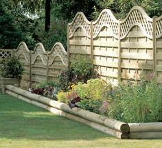 Unique Vegetable Garden Designs | Garden Courtyard Design Ideas