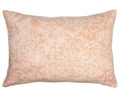 The Margot pillow is a hand screened print on French flax linen in a gorgeous apricot color. Designer Pillow, Linen Fabric, Screen Printing, Pillow Covers, Bed Pillows, Modern, French, Shop, Color