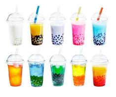 Bubble tea is a growing trend—but what is bubble tea? And what is boba, the pearls at the bottom of bubble tea? We explain what bubble tea is, why it's popular and whether boba is healthy. Taro Bubble Tea, Bubble Fruit, Bubble Drink, Bubble Tea Flavors, Pearl Tea, Different Types Of Tea, Anime Store, Smoothie Mix, Tea Cocktails