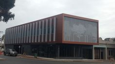 office facade perforated metal louvres - Google Search