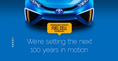 Toyota is setting the next 100 years in motion with the new Toyota FCV. What are your feelings on this new design idea?