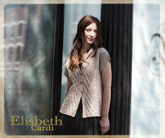 Ravelry: Elisbeth Cardi by Bonne Marie Burns