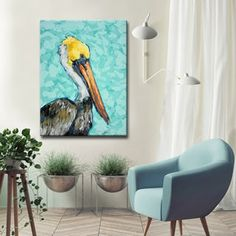 Shop for Ready2HangArt 'Pelican' by Sarah LaPierre Canvas Art. Free Shipping on orders over $45 at Overstock.com - Your Online Art Gallery Store! Get 5% in rewards with Club O! - 20809350
