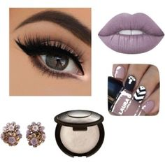 Si Sorelle: Beauty: Lilac look