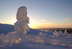 Spring in Levi Lapland