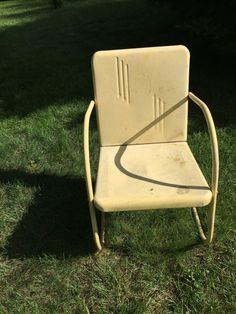 Superbe Vintage Motel Chair $65 Etsy