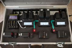 If you are shooting on location (and even if not) you must have a ton of batteries to power your production war-horse. The camera takes batteries, the lights take batteries, remotes, phones, monitors. Actually, most devices take more than one battery. And every battery set want their own charger. And every charger want it's out [...]