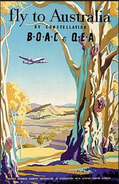 Australia by Constellation - BOAC & Qantas