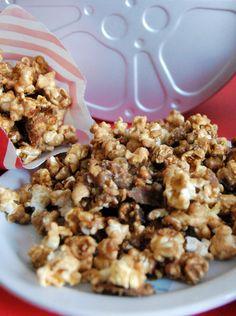 Golden Caramel Popcorn Recipe