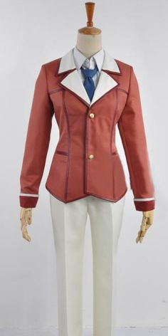 Onecos Inou Battle Within Everyday Life Ando July Uniform Cosplay Costume -- Check this awesome product by going to the link at the image.