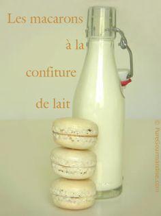 Macarons à la confiture de lait