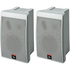 """JBL Control 5 - Black by JBL. $338.00. The Control Series might be your complete solution to all of your reference monitor needs. Whatever your recording set-up or environment, the Control Series has a speaker that's ready to deliver a smooth, intense audio response so you can work with confidence. These aren't """"precious"""" monitors, either. They sport a small design and rugged construction so you get optimal performance even in less than optimal conditions, like tight corners..."""