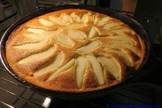 Birnen-Pfannkuchen, souffliert