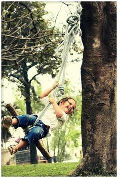 homemade swing