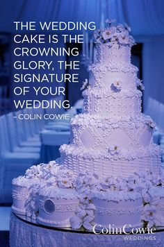 Wedding Wisdom from Colin Cowie