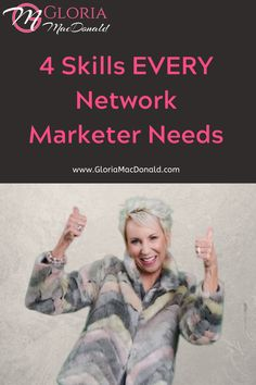 """EVERY network marketer today needs these 4️⃣ to stay relevant and keep their business growing.  Without these, frankly... you're toast!  In this podcast, I'll reveal exactly what I've done, and continue to do, everyday in these 4 areas.  And I'll share the 🏆""""Success Formulas""""🏆 for each of these 4 skills.  This doesn't have to be daunting.  It can be fun and easy when you've got a proven system for success you can literally copy."""