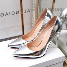 Giày cao gót nữ thời trang, thiết kế mới sang trọng, quyến rũ