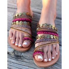 Leather Sandals Aysel Handmade Greek Sandals Swarovski Crystals Boho... (15.395 RUB) ❤ liked on Polyvore featuring shoes, sandals, gladiator & strappy sandals, grey, women's shoes, strappy gladiator sandals, gray sandals, bohemian sandals, boho sandals and embellished sandals