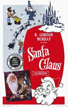 """HOLIDAY-FEST! SO BAD IT'S GOOD! """"Santa Claus"""" (1959) 