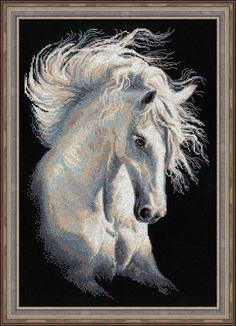 """Cross Stitch Kit by Riolis """"Andalusian Character"""" by ArtfulStitchings on Etsy"""
