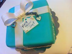 Tiffany box cake by Mamas baked Goodies