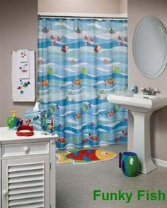 Funky Fish, Bathroom Set