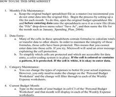 Demand letter sample templatesforms pinterest letter sample personal buget worksheet spiritdancerdesigns Image collections