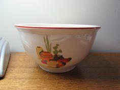 Southwestern Kitchen Rustic Handmade Bowl Set 2 Ceramic Chili Bowls