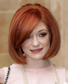 20 Bob Haircuts That Work: A Gorgeous Red Bob Hairstyle