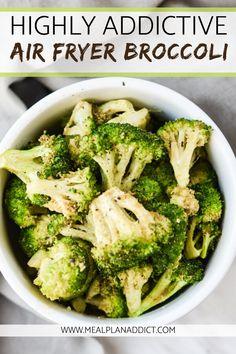 Air Fryer Recipes Breakfast, Air Fryer Oven Recipes, Air Frier Recipes, Air Fryer Dinner Recipes, Veggie Recipes, Cooking Recipes, Healthy Recipes, Cooking Food, Ninja Recipes
