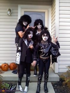 Kiss Band - Homemade costumes for groups