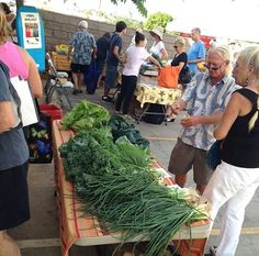 Saturday is @ Lipoa Street Farmers' Market in Kihei, Maui, Hawaii… Maui Kihei, Maui Hawaii, Kauai, Maui Honeymoon, Maui Travel, 50th Wedding Anniversary, Island Girl, Fruits And Veggies, Farmers Market