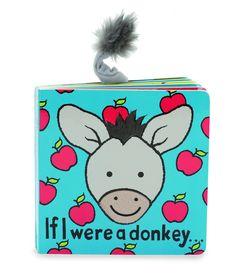 Jellycat Board Book If I Were a Donkey