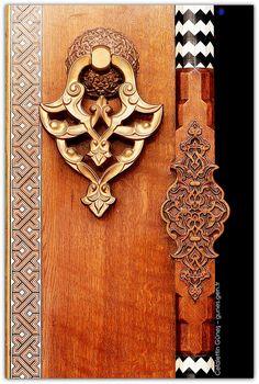 Interior design | decoration | home decor | materials | Mimar Sinan Mosque / Details. Istanbul, Turkey