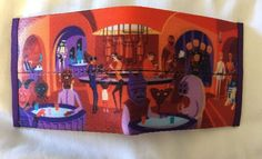 New Harveys Disney Shag Star Wars Cantina A Wretched Hive Men's Wallet Billfold   eBay