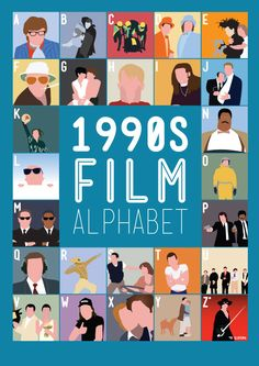 pop culture movie art | on these pop-culture movies from the 80s and 90s with these 'Film ...
