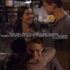 Switched At Birth Switched At Birth Bay, Switched At Birth Quotes, Emmett And Bay, Sean Berdy, Bsl, Laura Marano, American Sign Language, I Ship It, Abc Family