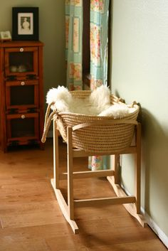 Moses basket from Frontier Dreams