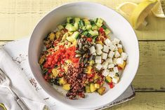 Mediterranean Quinoa Bowl Recipe | HelloFresh