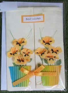 Moja pasja: Kartki z kwiatami
