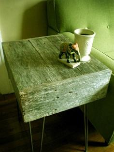 Barnwood table from Modernarks Nashville.